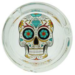 cendrier_verre_rond_skull_gros_diamant