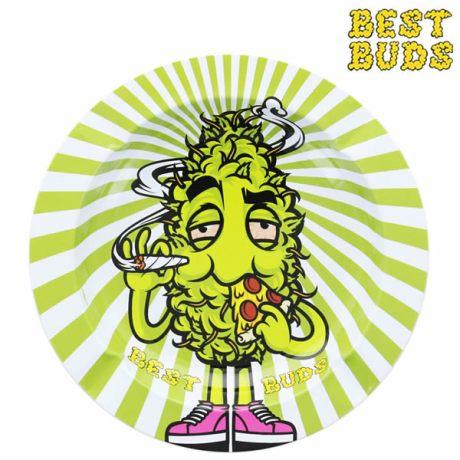 Cendrier métal Best Buds High Pizza