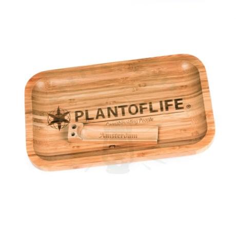 Plateau en Bambou Plant of Life (Grand)