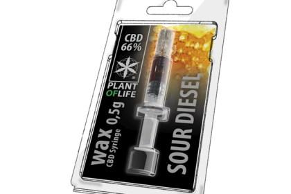 Sour Diesel Wax cbd 66% 0.5g
