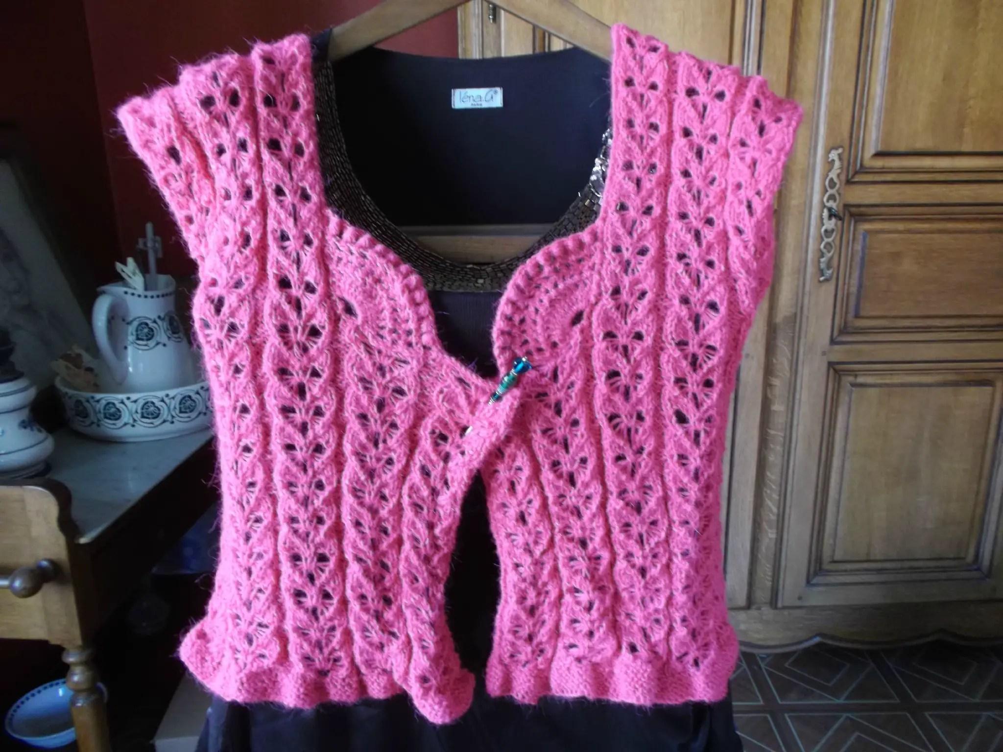 Tuto : point en forme de coeur, au tricot