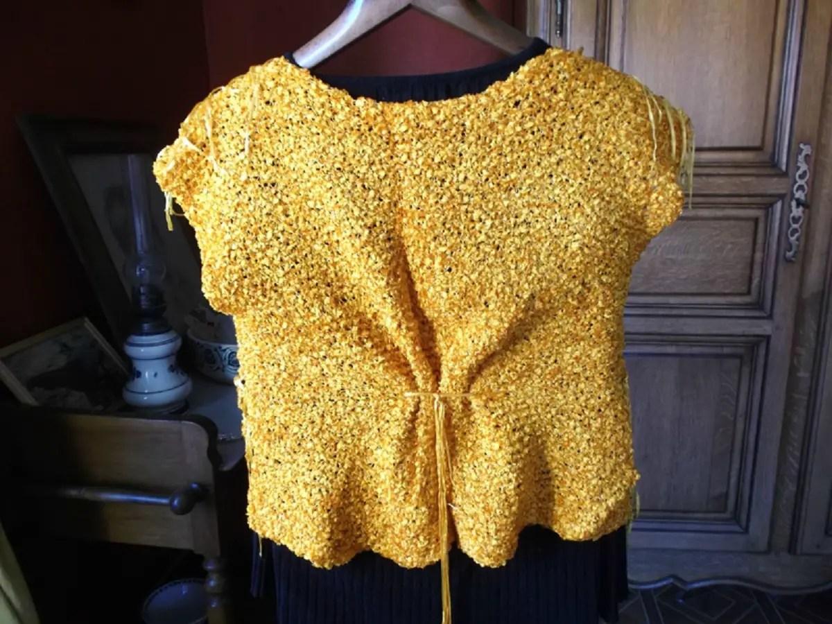 Couleur soleil au tricot