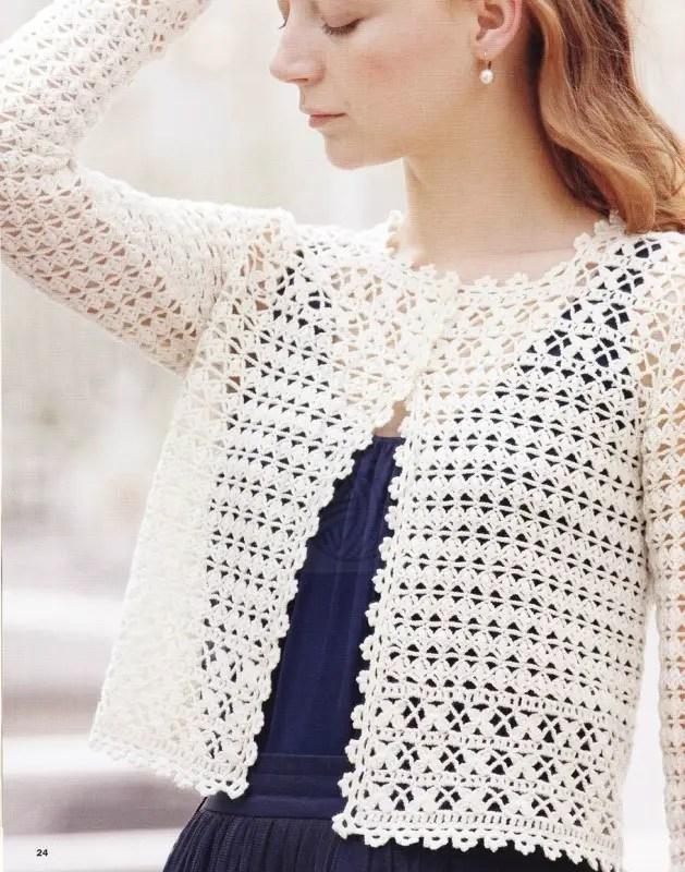 Un La Gilet Crochet Beau Tricote Grenouille Très Femme n0k8wPOX