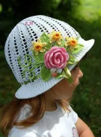 Un chapeau enfant pour l'été
