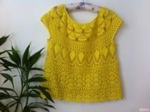 Un pull d'été couleur soleil