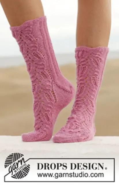 Chaussettes roses pour nous les filles