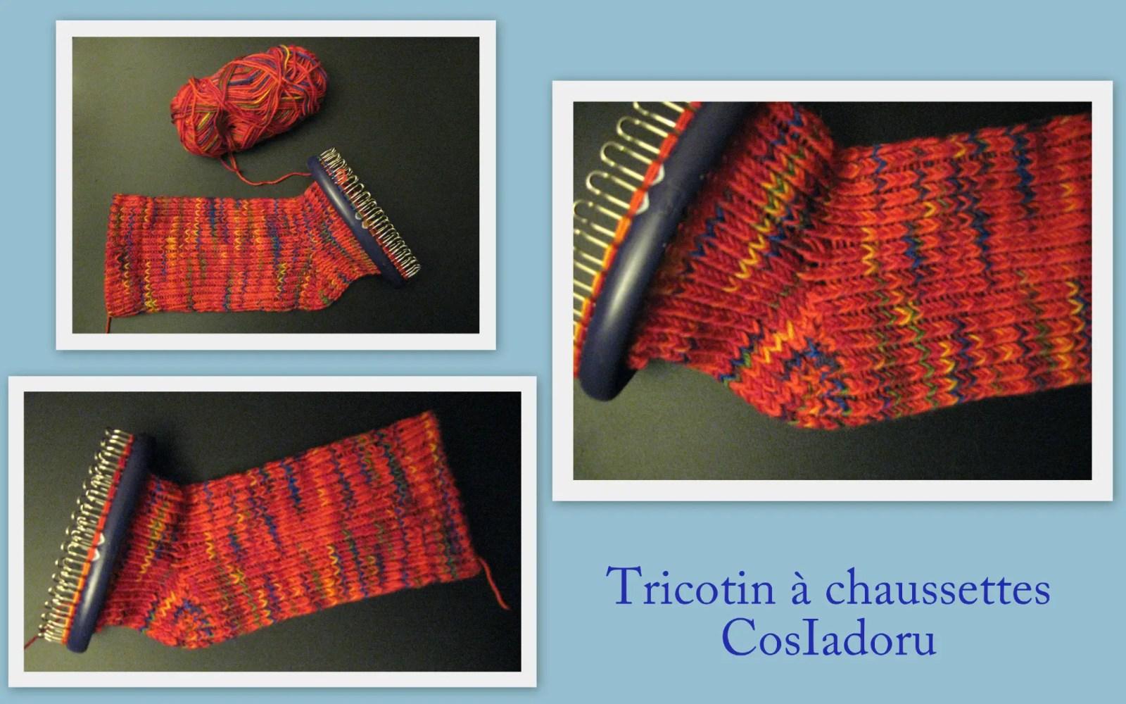 pour celles qui ne savent pas tricoter à 4 aiguilles