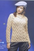 au tricot un pull façon irlandais