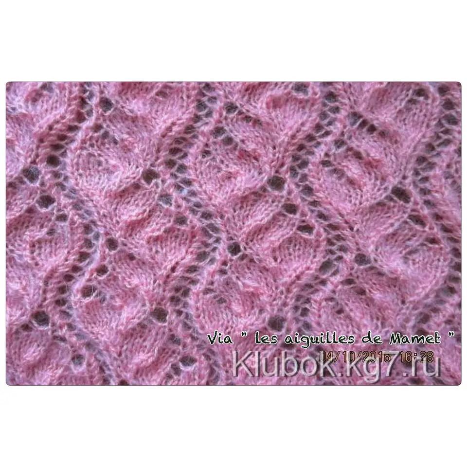 un magnifique point au tricot