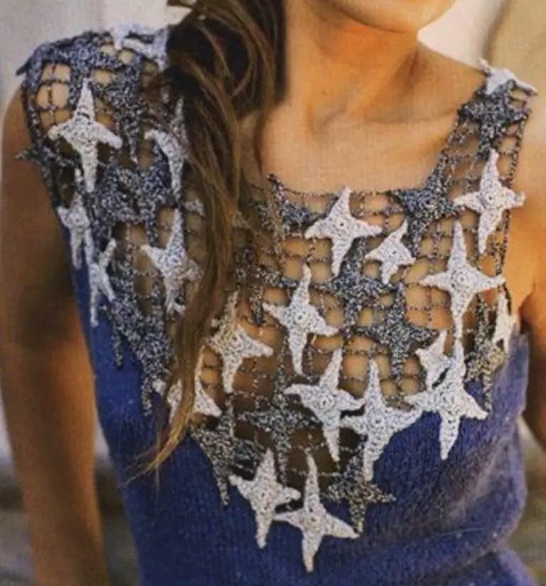 Un pull de star parsemé d'étoiles