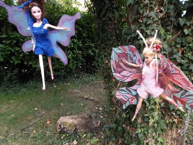 Mes Barbies Papillons et juste un peu de magie
