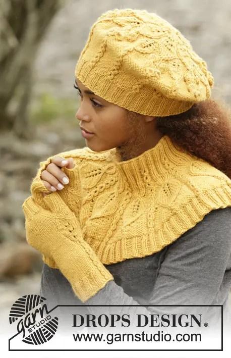 6e9ea523272a aujourd hui je vous propose un très bel ensemble composé de 3 éléments,  tous réalisés au tricot et avec un très beau dessin