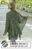 au crochet une veste asymétrique