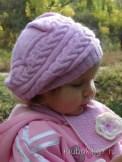 le pas à pas du bonnet rond enfant