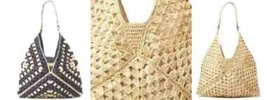 Le sac French Fashion au crochet