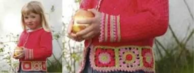 Le cardigan Sweet Berry pour nos princesses