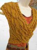Un cache cœur de douceur au tricot