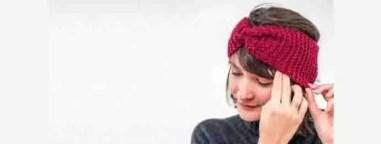 Headband au tricot facile