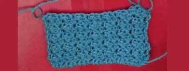 Point original au crochet