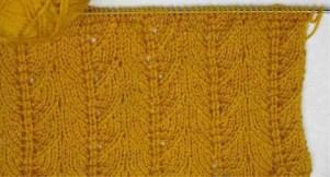 Point tricot fantaisie facile