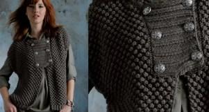 Une veste facile et rapide pour femme