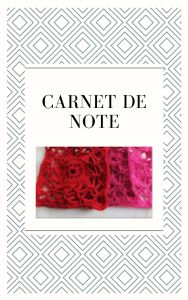 les carnets de notes lagrenouilletricote