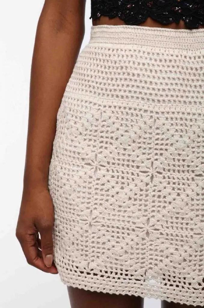 Comment faire une jupe au crochet
