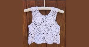 easy crochet crop top
