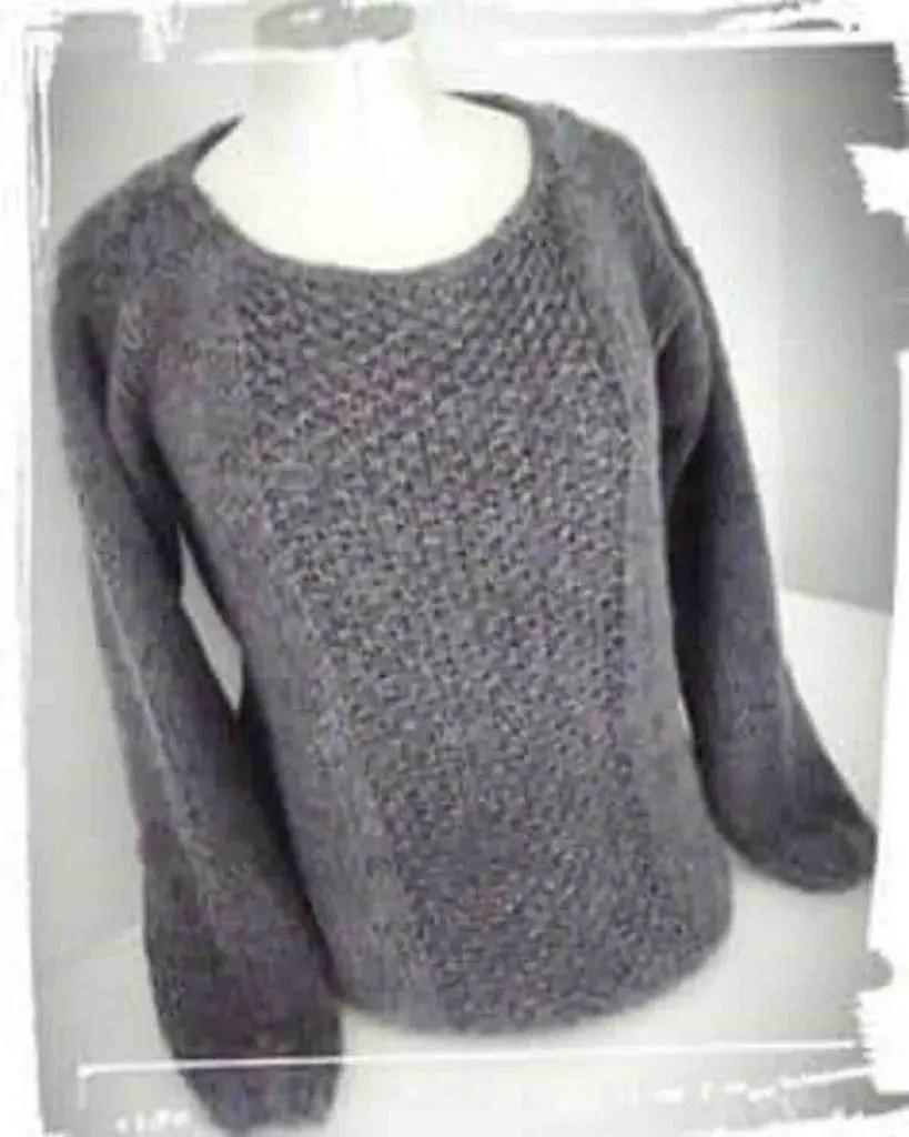Comment tricoter facilement un pull femme
