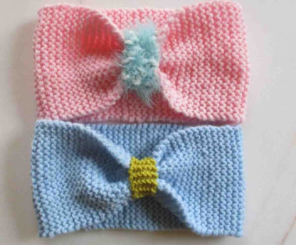 Modèle bandeau tricot facile