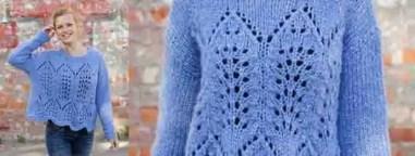Tricoter un pull pour l'automne