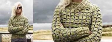 Un pull pour l'automne au crochet