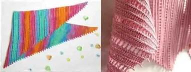 Tricoter un châle facile et rapide au crochet