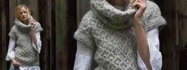 pull sans manche tricot modèle gratuit