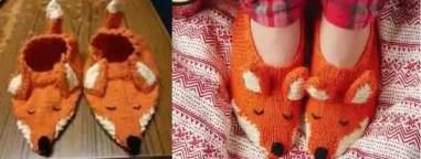 Chaussons tricots trop mignons