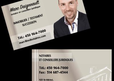 Marc Daigneault, notaire