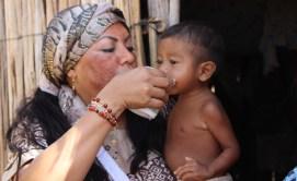 La principal preocupación de Oneida Pinto, es los niños de la cultura Wayuu