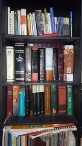 Coleccionista de biblias.