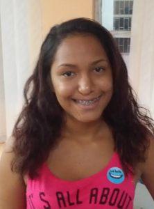 Yulibeth Bolaños Contreras, recientemente cumplió 15 años y resultó favorecida en la jornada quirúrgica