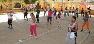 Los habitantes del corregimientos estuvieron animados durante el desarrollo de la actividad recreativa.