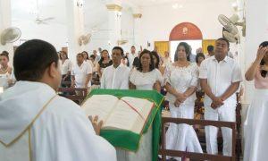 Al cumplir 176 años la administración municipal en cabeza del alcalde Rafael Ángel Ojeda Brito y Mary Luz Ortiz Gestora Social, celebraron a través de una solemne eucaristía
