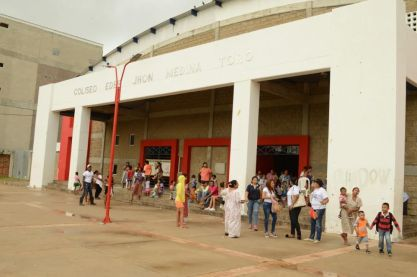 Los habitantes de varios barrios de Riohacha, solo pasaron una noche en los albergue, el día siguiente regresaron a sus hogares.