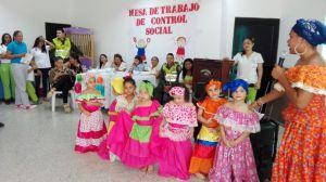 En el desarrollo de la actividad los docentes en compañía de sus estudiantes realizaron presentaciones mostrando los dotes artísticos de los niños y la forma como se educan en las diferentes entidades.