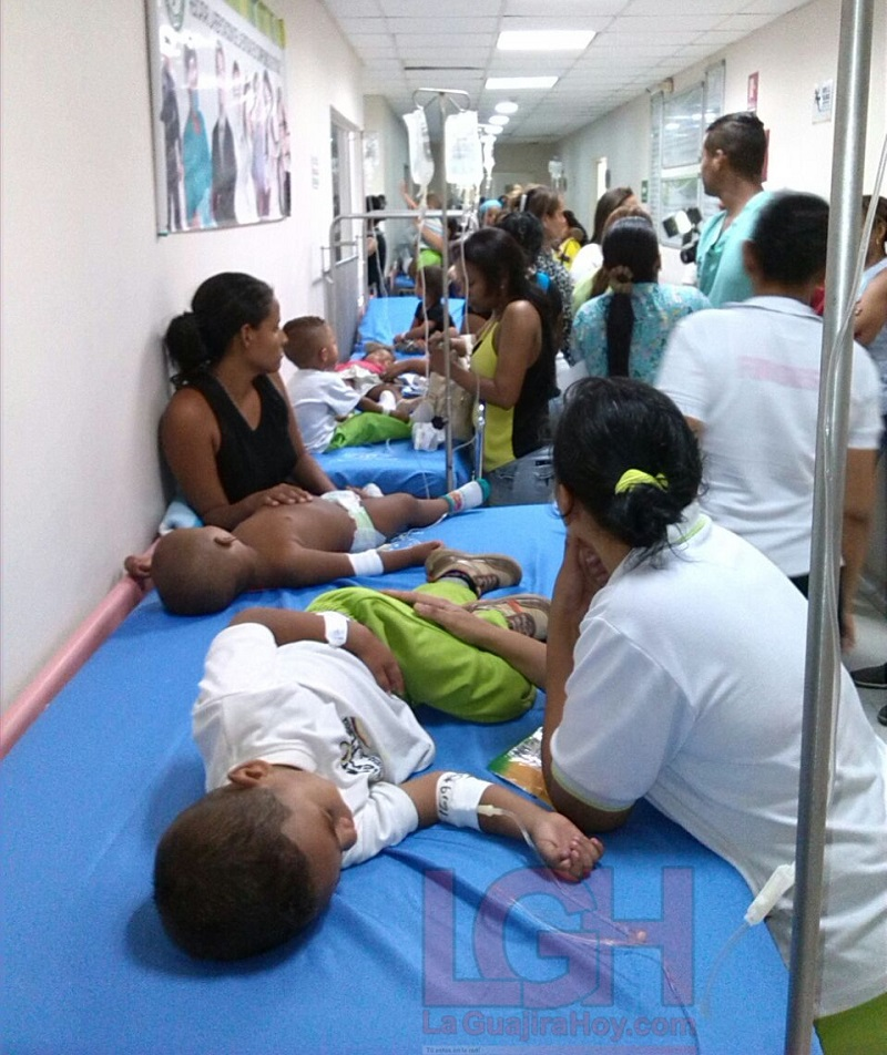 Unos 70 niños resultaron intoxicados en centro del ICBF en La Guajira