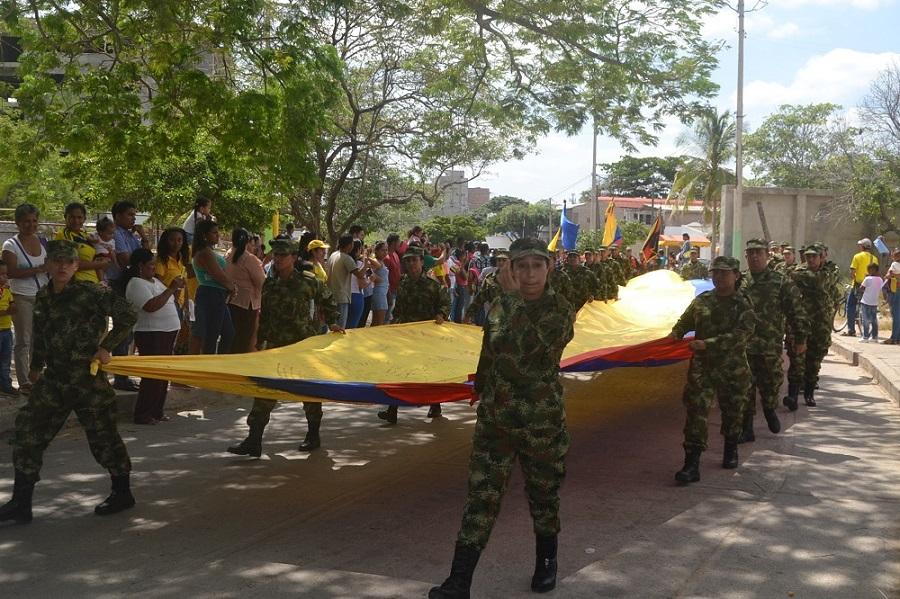 Cali conmemora la Independencia de Colombia con desfile militar