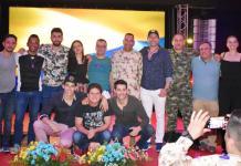 El director de la película colombiana Orlando Pardo y los actores Stephanie Abello, Jorge Soto, Yarlo Ruiz, Héctor Sánchez y Roger Moreno, estuvieron en Buenavista, corregimiento del municipio de Distracción.