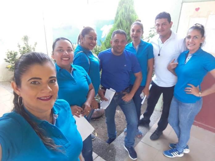 Grupo de docentes de bachillerato del Isabel María Cuesta González.