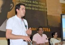 Viceministro José Luis Acero Vergel durante la presentación de los avances del Proyecto
