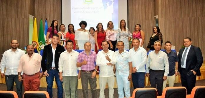 Cuerpo de docentes de bachillerato de la Institución Educativa Isabel María Cuesta González.