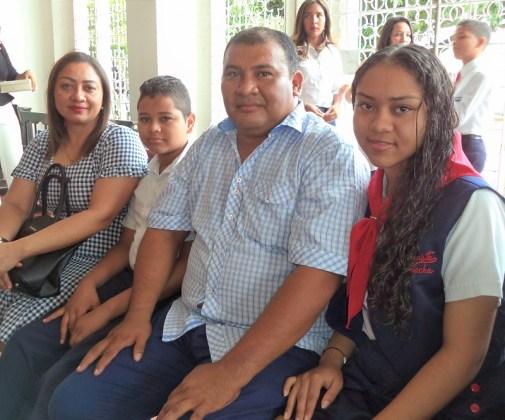 Familia Brito Martínez.